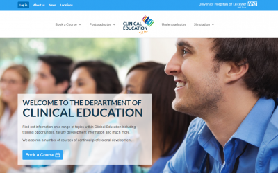 New Website for Department of Clinical Education!